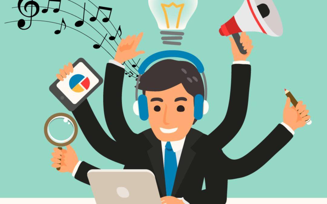 ¿Qué tipo de música te ayuda a hacer mejor tu trabajo (y de paso, a reducir el estrés)?