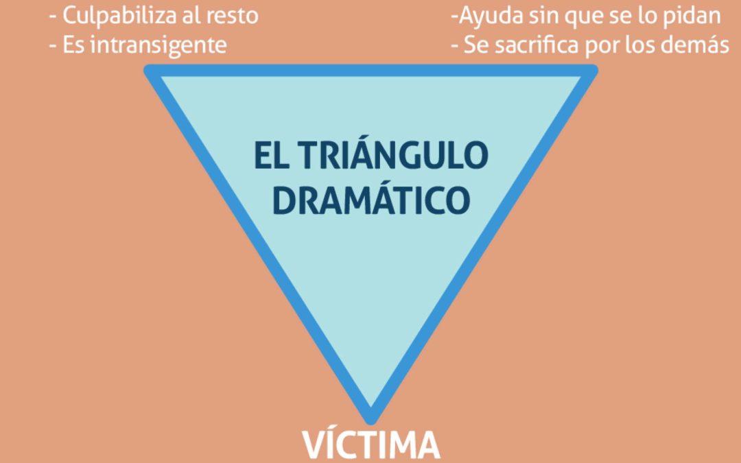 Qué es el triángulo dramático y cómo podemos salir de él