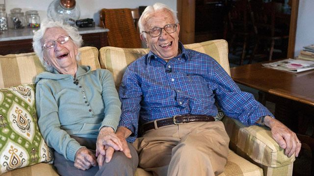 81st wedding anniversary for America's longest married couple