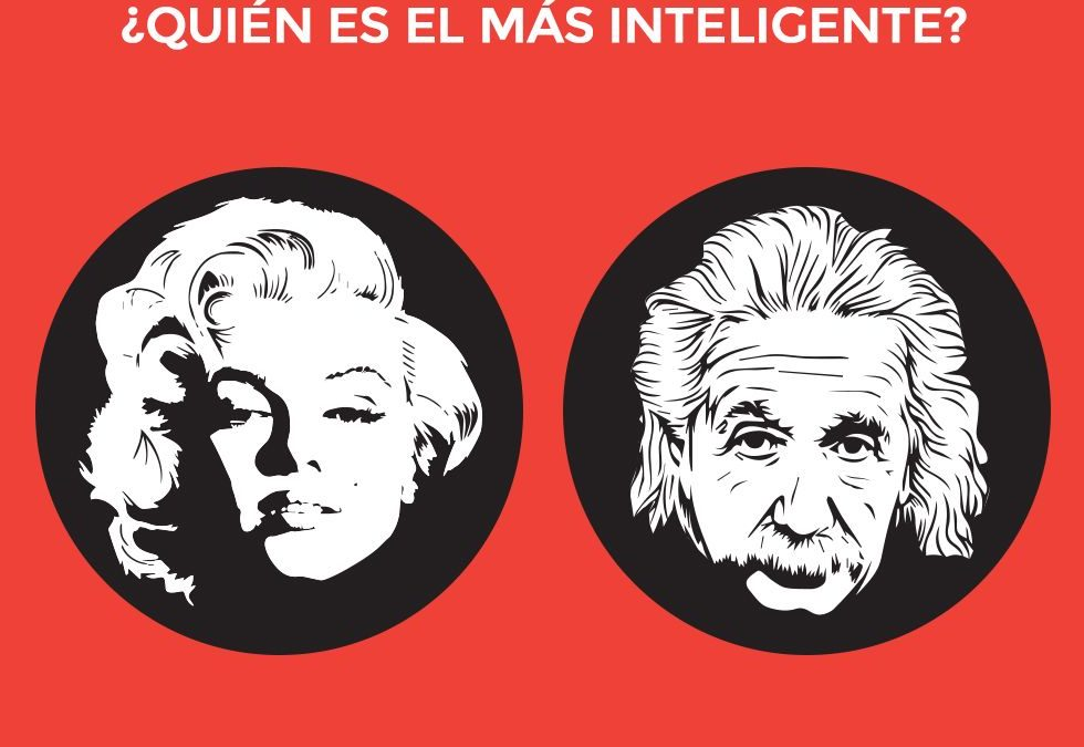 Por qué pensamos que Marilyn Monroe era menos inteligente que Einstein