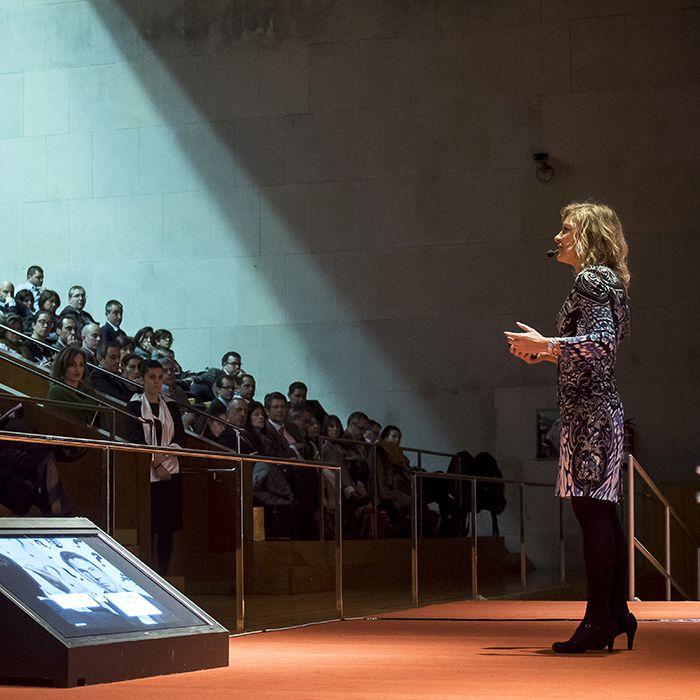 Fotografía de Pilar Jerico en el Palacio de Congresos